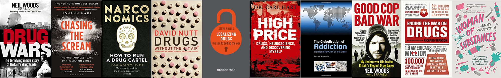 Recommended Reading: Top 10 Drug Policy Reform Books